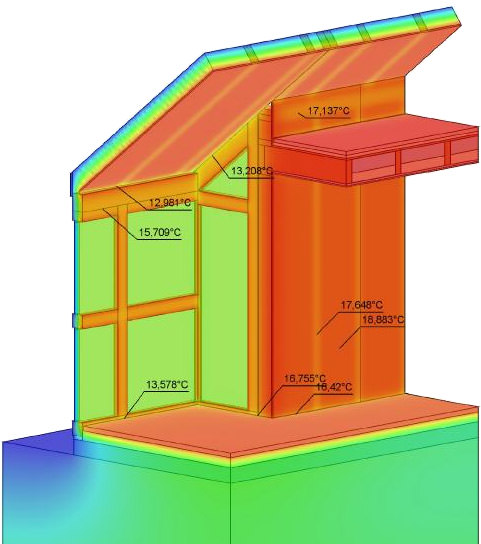 w rmebr ckenberechnungs programme psi therm 2d und 3d in. Black Bedroom Furniture Sets. Home Design Ideas