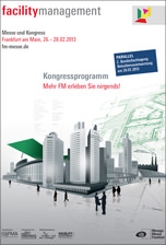 Kongressprogramm - Facility Management 2013