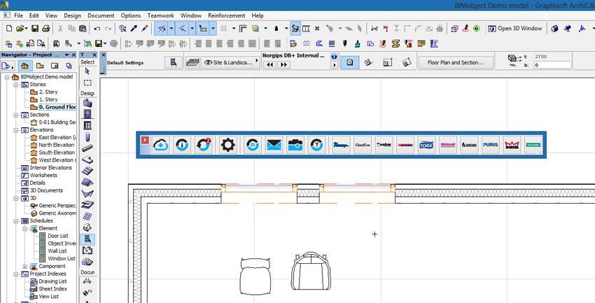 bimobject app f r archicad verf gbar mit benefits f r. Black Bedroom Furniture Sets. Home Design Ideas