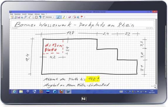 aufma mit mwm libero auch auf windows 8 tablets. Black Bedroom Furniture Sets. Home Design Ideas