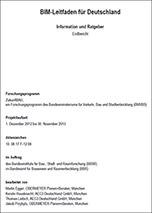 BIM-Leitfaden 2014 für Deutschland