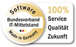 """BITMi-Gütesiegel """"Software Made in Germany"""""""