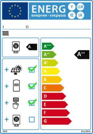 Produktlabel und Verbundlabel gemäß ErP-Richtlinie