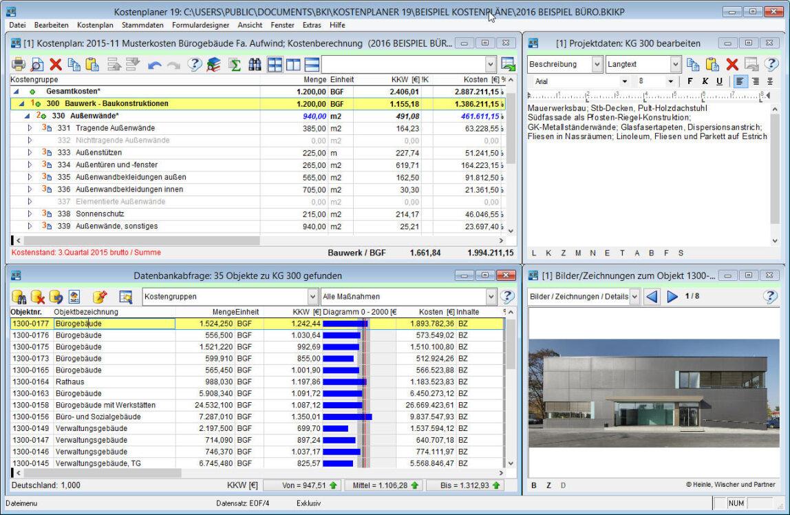 BKI Baukostenbank