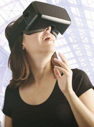 Reality à la Allplan auf Basis von bim+ und einer 3D-Brille