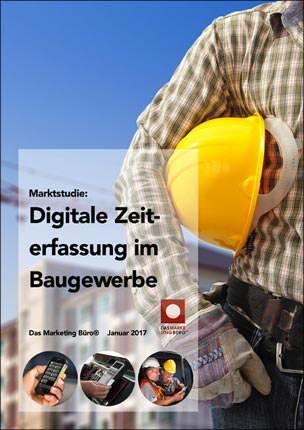 """Marktstudie """"Digitale Zeiterfassung im Baugewerbe"""""""