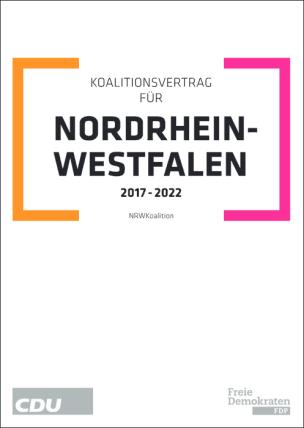 Koalitionsvertrag von CDU und FDP