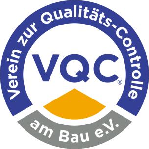 Logo des Vereins zur Qualitäts-Controlle am Bau e.V.