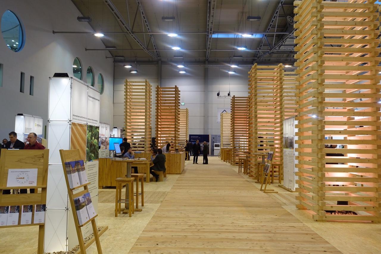 Impression DeubauKom 2016: Kompetenzzentrum Holz