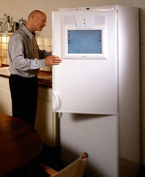 Internet-Kühlschrank, Kühlschrank mit Internetanschluss