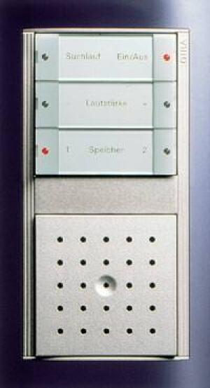Gira Unterputz-Radio für Unterputzdoseen mit Sendersuchlauf