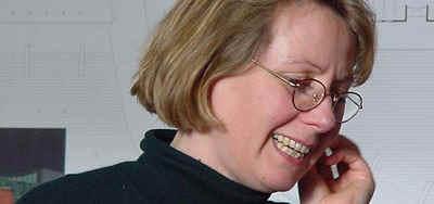 Frau Professor Hilde Léon