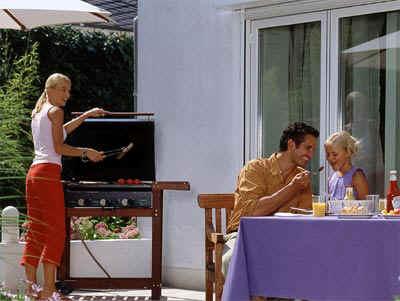 Erdgasgrill, grillen, Garten, Grill, Holzkohle, Barbeque, Küche, kochen, Gemüse, Grillparty