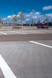 wasserdurchlässige Verkehrsflächenbefestigung