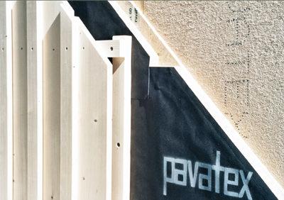 Wärmebrückenvermeidung, Energieeinsparverordnung, EnEV, Holzfaserdämmplatten, Holzbau, Massivbau, Überdämmen, Dämmelemente, hinterlüftete Fassaden, hinterlüftete Fassade, Unterdeckbahn, diffusionsoffen, Fassadenverkleidung, Hitzeschutz, Schallschutz