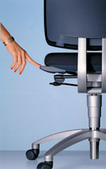 mikromotiv, Bürostühle, Rückenschmerzen, Ergonomie, Rückenbeschwerden, Bürostuhl, Lendenwirbel, Massage, Mikrorotation, Bandscheiben, Muskulatur