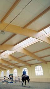 Hallendächer, Reithallen, Sporthallen, Produktionshallen, Hallen,Wärmedämmung, harte Bedachung, Ballwurffestigkeit, Dachelemente, Reithalle, Sporthalle, Produktionshalle, Halle, Hallenelemente, Planelemente, Dämmung, Dachelemente, wärmegedämmte Dächer