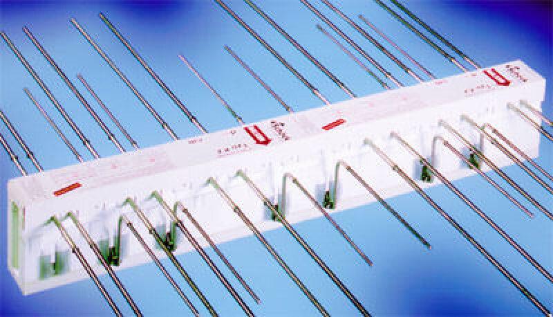 Isokorb aus mikrostahlfaserbewehrtem Beton für Balkonplatten