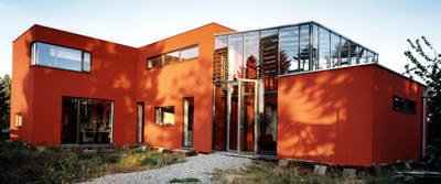 Ziegelhaus, Öko-Bau, ökologisches Bauen