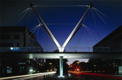 Verkehrsarchitektur, Verkehrsbauwerke, Fußgängerbrücke, Renault Traffic Design Award