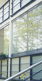 Balkonverglasung, Balkontechnik, Balkon, Laubengänge