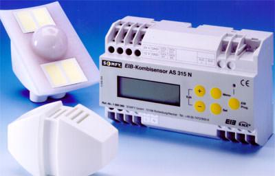 Gebäudeautomation, Wetterstation, Gebäudemanagement, EIB, Sensoren, Windgeschwindigkeit, Regen, Außentemperatur, Lichtverhältnisse