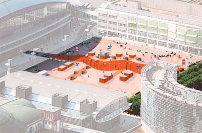 Stadtmöbel, Außenleuchten, public design, light+building, öffentlicher Raum, light+building, Außenbeleuchtung, Lichtinstallationen, Architekten, Stadtplanung