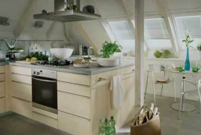 offene küchen bringen weite unters dach - Dachgeschoss Küchen Bilder