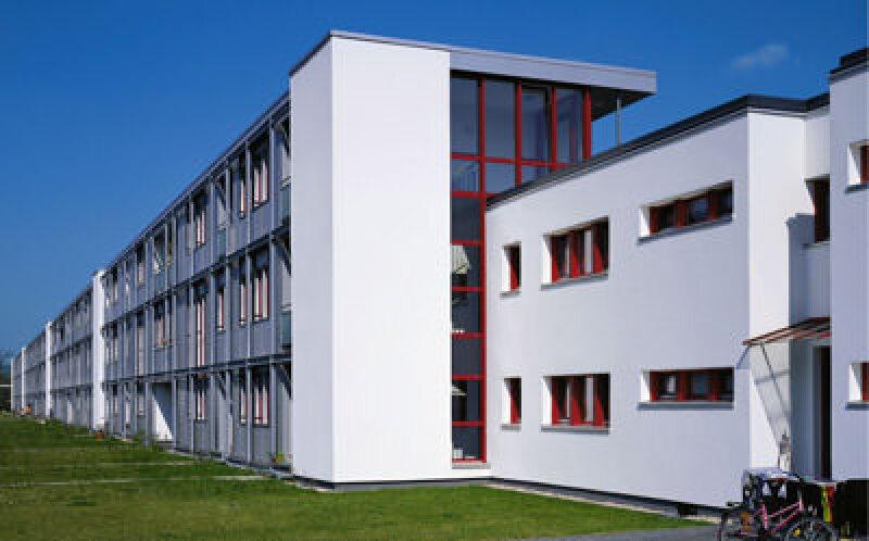 Bauhaus-Architektur, Otto Haesler, Bauhaus-Architekt, Denkmalschutz, Sanieren, Sanierung, Stahlskelett-Konstruktion, Wärmedämmverbundsystem, Bauhaus-Architekten