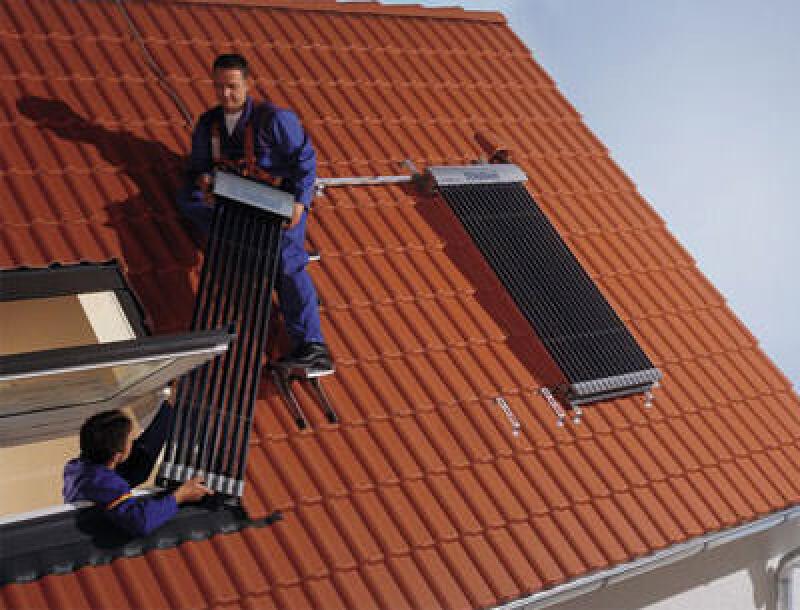 Röhrenkollektoren als Solarkollektoren bzw. Sonnenkollektoren