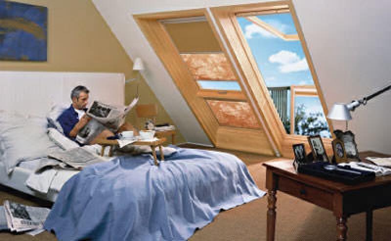 Dachwohnfenster, Dachflächenfenster, Velux-Fenster, Dachfenster