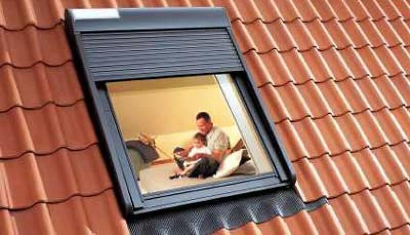 Solar-Rollladen, Dachwohnfenster, Rollläden, Rollladen