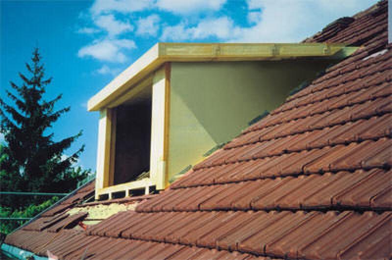 Gauben, Dachgauben, Dachdämmung, Dachelemente, Innenausbau, Dachausbau, Dach ausbauen