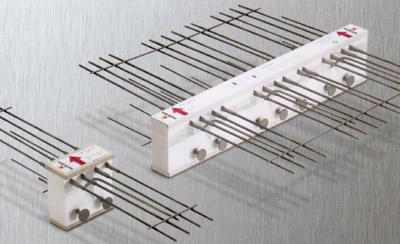 Balkonanschluß, Wärmebrücken-Dämmelemente, Wärmebrücken, Balkone, Dämmung, Wärmedämmstoffe, Betonbau, Wärmebrücke, HALFEN Iso-Element, HIT, Balkonplatten, Balkonplatte, Kragplatte, Transmissionswärmeverlust