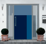 Pura - Aluminium-Türsystem, Haustüren, Fassade, Einbruchschutz, Wärmedämmung