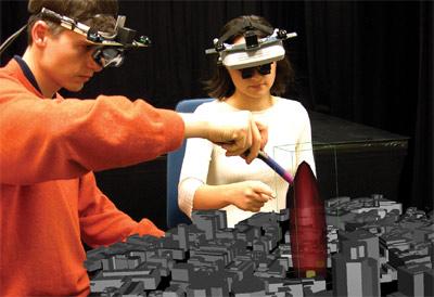 IBPM, Augmented Reality-System, Stadtplaner, Architekten, Fraunhofer-Institut, 3D-Visualisierung, Videokonferenzen, virtueller Konferenzraum