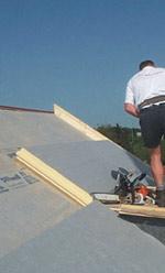 Dachdämmung, Schalldämmwerte, Schalldämmung, PUR-Dachdämmsystem, Holzfaserplatte, Aufsparrendämmung, PUR-Dämmstoffe, Steildachdämmung, FCKW-frei, HFCKW-frei
