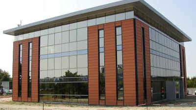 Gewerbebau, Hallenbau, Stahlbau, Stahlsystembau, Industriebau, ökologische Baustoffe, Dachsanierungen