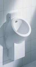 Urinale, Urinal, Sanitäranlagen, Sanitärobjekte, Wasserspülung, Hybrid-Urinal