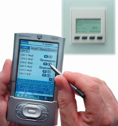 Gebäudeleittechnik, Bussysteme, EIB-Gateway, Bluetooth, Haustechnik, Gebäudeautomation, Gebäudesystemtechnik, Gebäudeinstallation, Lichtszenarien, Klimatisierung, Heizungssteuerung, Sicherheitsanwendungen