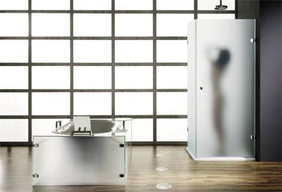 Badewannen, Ganzglasduschen, Badewanne, Wanne, Wannen, Glas, Badezimmer, Ganzglasduschen, Klarglas, Einscheiben-Sicherheitsglas, ESG, Sanitär-Acryl, Acryl-Glas, Sanitärfarben