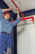 Brandschutz, Sprinkleranlage, Sprinkleranlagen, Architekten, Genehmigungsplanung, Feuerversicherer, Baubehörde, Bauordnungen, Muster-Bauordnung, Brandwände, Brandschutztore