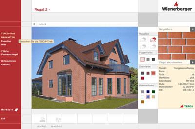 planungshilfe von wienerberger fassadengestaltung auf einen klick klinkersteine klinker. Black Bedroom Furniture Sets. Home Design Ideas