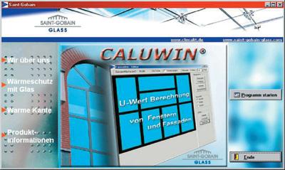 Glasberechnung, U-Werte, Fensterrahmen, Glasrand, Wärmedurchgangskoeffizient