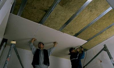 Decke Renovieren Altbau schalltechnische sanierung bestandsdecken