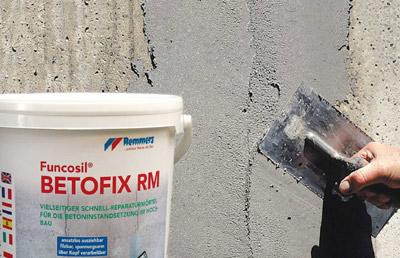 Sichtbeton Spachtel reparaturmörtel mit dem turbo effekt verspricht betoninstandsetzung