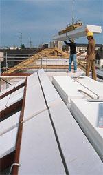 Massivdach, Dachplatten, Massivdächer, Steildachsystem, Steildachsysteme, Porenbetondach, Dachraum, Dachausbau, massives Dach, massive Dächer, Dachgeschoss, Porenbetonbauteile