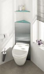 Toilettenspülung, Kompakt-Spülrohr, WC-Montage, Abwasseranschlussbogen, Schallschutz-Dämm-Manschetten, Schallschutzprofil