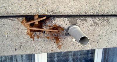 Balkonsanierung, Beton-Instandsetzung, Stahlbeton-Balkon, Baustoffe, Stahlbeton-Fertigteile, Plattenbauweise, Balkone, Fassade, Dämmung, Wärmebrücken, Bewehrungsüberdeckung, Bewehrungsstahl, Karbonatisierung