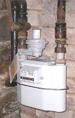 Gaszähler / Gasabrechnung